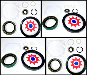 **4 Kits- Reseal / Gasket for CTIS Geared Knuckle Hubs ; Hummer Humvee ; 5745692