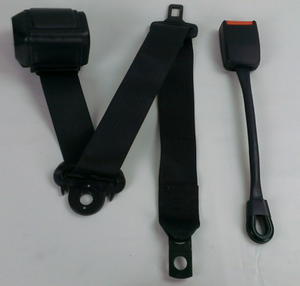 1 EACH - Humvee  ;  3 POINT SEAT BELT KIT ---  REAR -- LH or RH