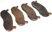 Load image into Gallery viewer, Brake Pad Set (4 Pads Per Set) M1114 Hummer Humvee ; WPD7019  2530-01-477-4194