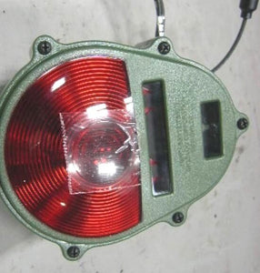 Tail-Light - 24v Green Plastic Housing w/ Red Lens  ; 12375837  6220-01-372-3883