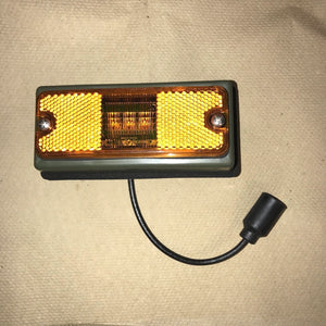 2 each- Marker Light, LED, Frt. Amber; FMTV MRAP; 6220-01-494-0572 12422657-001