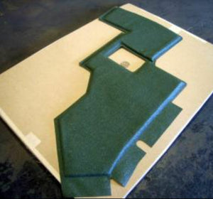 INSULATION , DRIVER-SIDE LH ; M998  Humvee ; 12339044  2510-01-251-8548  5595838