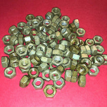 Load image into Gallery viewer, **1000 each** M8x1.25mm  Organic Zinc Plated Prevailing Torque Self-Locking Nuts