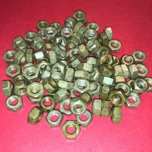 **1000 each** M8x1.25mm  Organic Zinc Plated Prevailing Torque Self-Locking Nuts