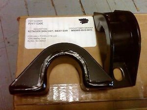 2 each - SWAY BAR BRACKETS  (RETAINERS) ; ROD HALL ; H1 HUMMER Humvee ;  RH1104K