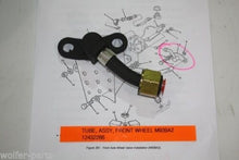 Load image into Gallery viewer, TUBE , FRONT AXLE CTIS WHEEL VALVE ; M939A2 ; 4710-01-279-3159 12432286 20510714