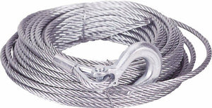 "100' Winch Cable w/ Hook - .375"" dia. ; M998  Hummer ;  4010-01-496-3987  34414"
