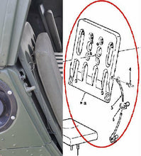 Load image into Gallery viewer, 1 each SEAT-BACK RH or LH w/Cable&Studs; HUMMER ; 12340051 5585117 2540011883229