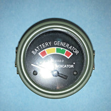 Load image into Gallery viewer, VOLTAGE GAUGE , BATTERY GENERATOR ;  6625-01-086-9580  MS24532-2   VG0053   504K
