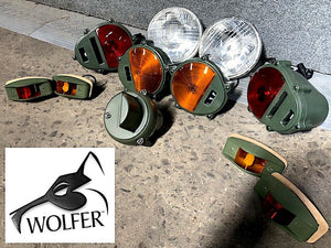 Set of Lights - Headlights-Markers-Tail-Parking-Blackout - Humvee M35 M939  etc.