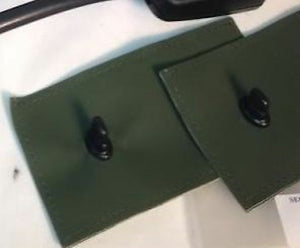 2 each  -  CANVAS for EXTENSION ASSY ; Humvee Hummer M998  ;  12342959
