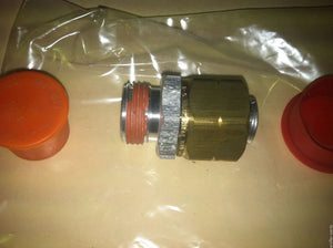 Adapter , Straight, Tube to Boss; M939 5TON ; 4730-01-279-1519 12363558 20510736