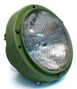 HEADLIGHT ASSEMBLY , 24V-GREEN ; M939 HUMMER ; 12338611 5591170 6220-01-193-1970