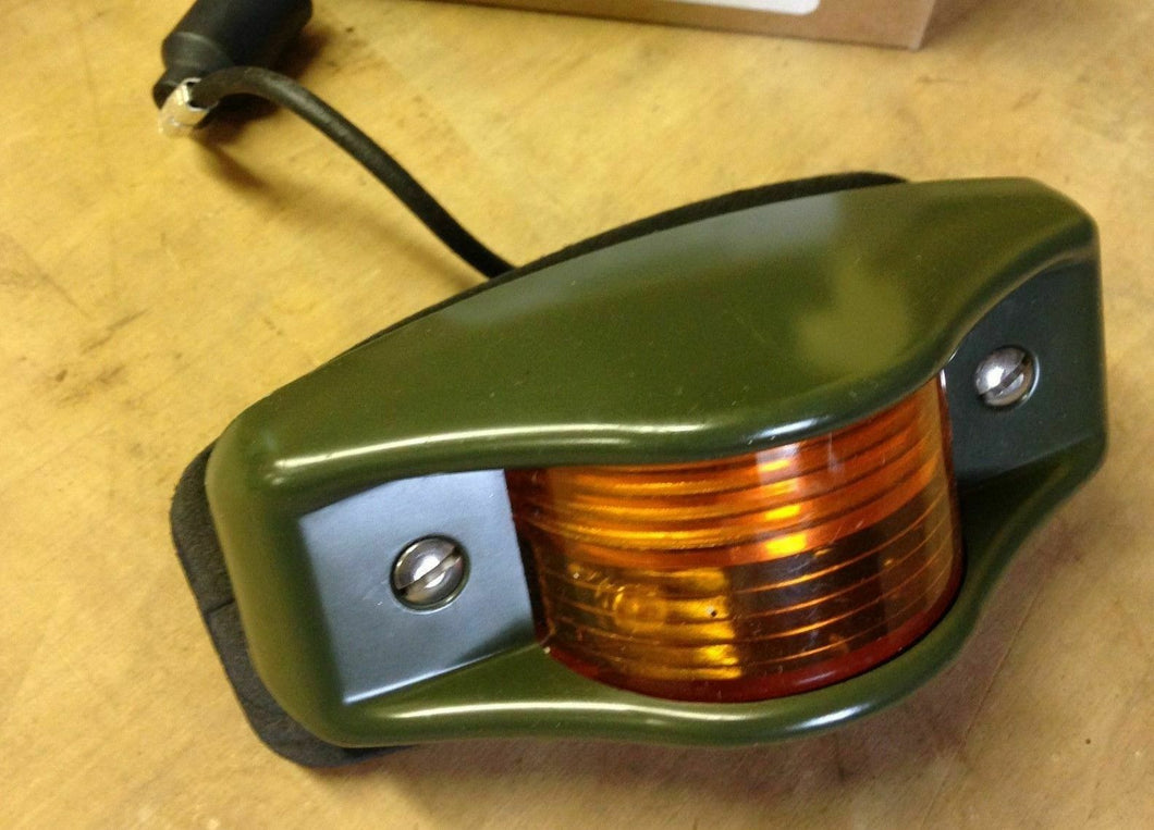 LED-24V , Side Marker Light , 383 Green Housing , Amber Lens ; Ref#: 12446845-1