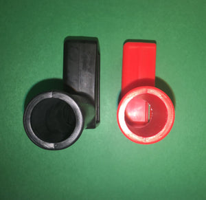 Red & Black Boot Set, Battery Terminal ; M939 Hummer ; 2530010894992 12290948
