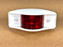 Load image into Gallery viewer, Side Clearance Light , WHITE Housing , Red Lens , LED-24V ; MS35423-2 w/LED