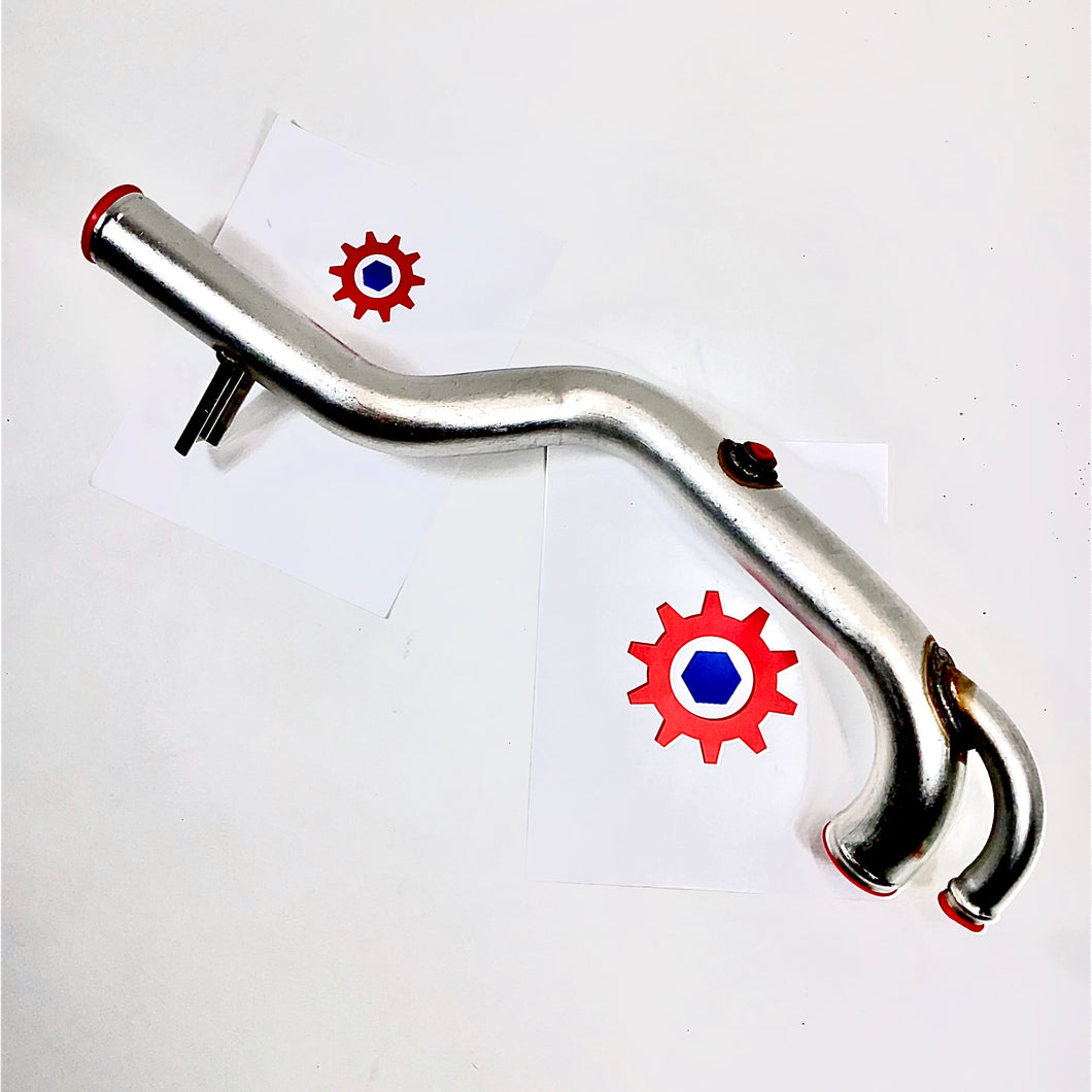 Lower Coolant Bent Tube ; Hummer H1 M998 ;  12339152  4710-01-188-0028  5578604