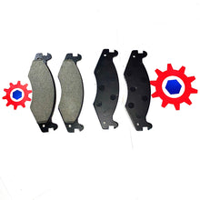 Load image into Gallery viewer, 4 each - Brake Pad Set, Service; M998 Hummer Humvee ; 57K0262  2530-01-459-0367