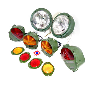 Set of Headlight Asm., Taillights, Parking Lights, & Reflectors  M939  M35  M998