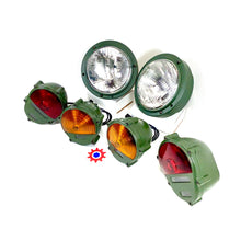 Load image into Gallery viewer, Set of 2 - Headlight Asm., 2 - Taillights, & 2 - Parking Lights  M939  M35  M998