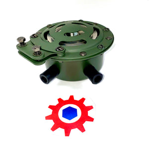 HORN w/ Green Housing 24volt ; M998 M939 ; MS51074-1 12338612 5584471 AA52525-21