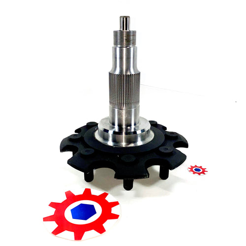 SPINDLE for CTIS KNUCKLE ; Hummer Humvee ; 2530-01-449-2495 5715160 6009349