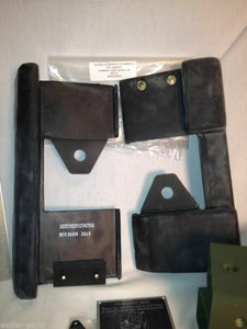 2 PADS --- Hummer  M998 ; PAD, CUSHION, B PILLAR, LH & RH  - 12342954 & 12342955