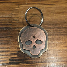 Load image into Gallery viewer, Lights Out Skull Pendant