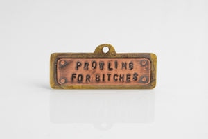 Prowling Dog Tag