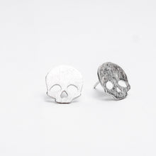 Load image into Gallery viewer, Skull Stud Earrings