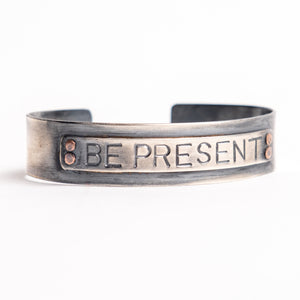 """Be Present"" Motivational Bracelet"
