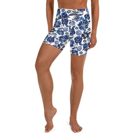 The Aubrie Yoga Short - HeatherLeigh Swimwear