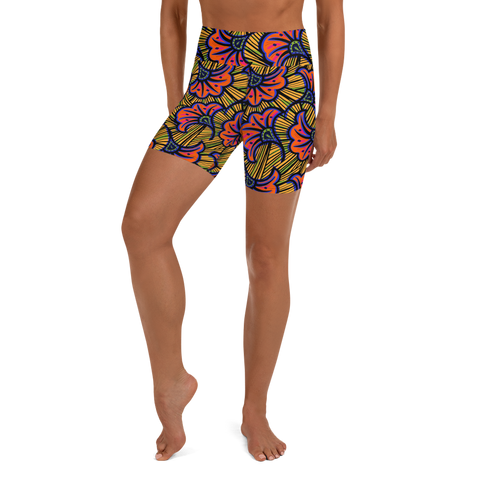 The Laila Yoga Short - HeatherLeigh Swimwear