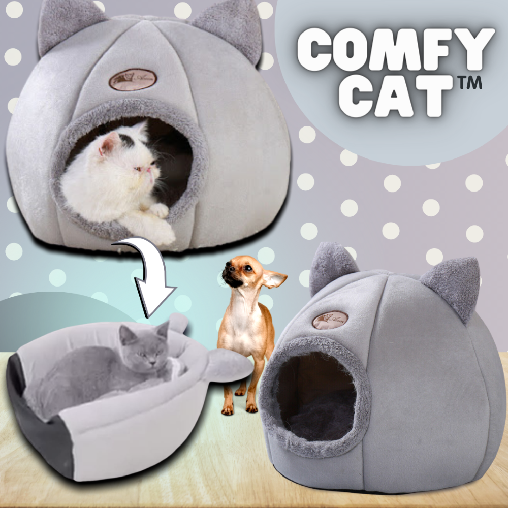 Cave Style Warm & Cozy Cat Bed