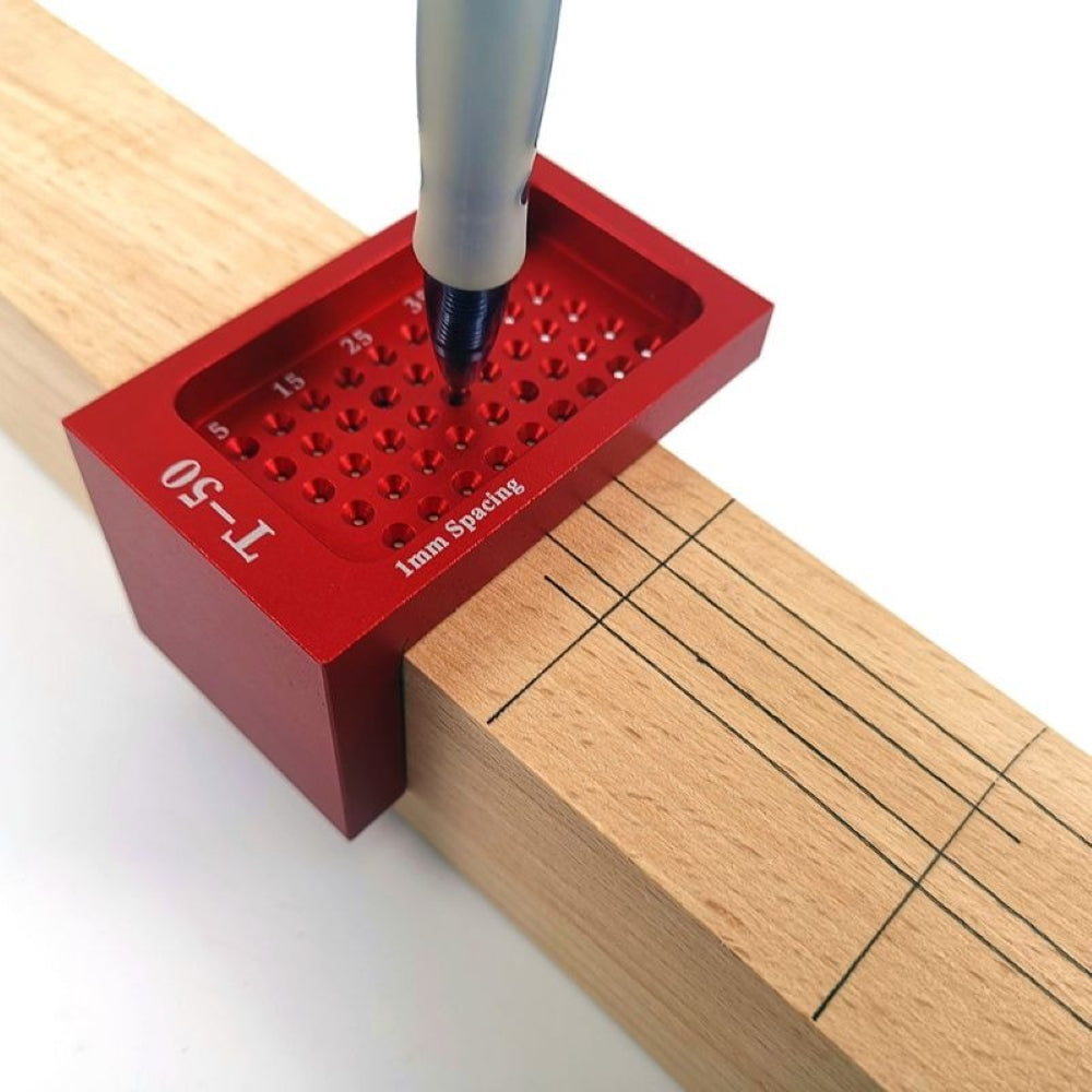 T50 Hole Positioning Ruler