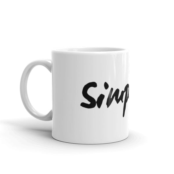 Simplify Mug | A Quiet Reminder In a Busy World