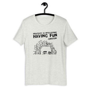 Fun Einstein Quote T-Shirt