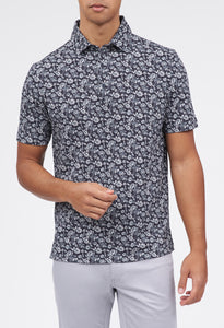 Pico 3-Button Flowered Polo