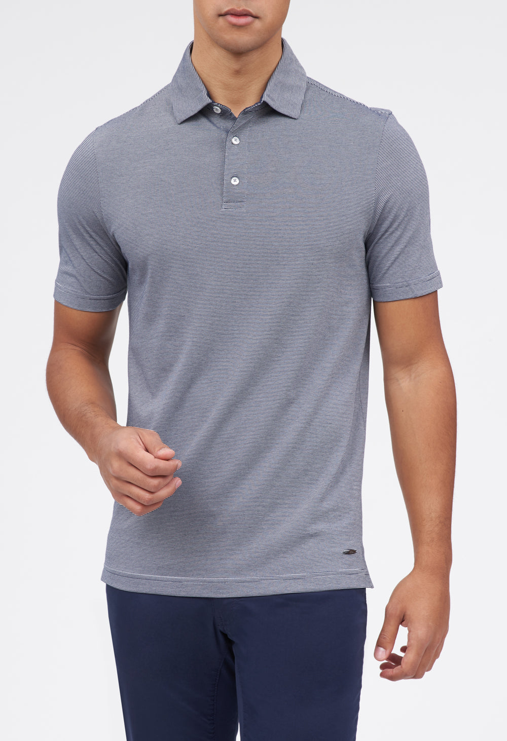 Pero 3-Button Jersey Polo