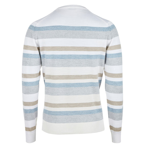 Stenstroms Striped Merino Crew Neck