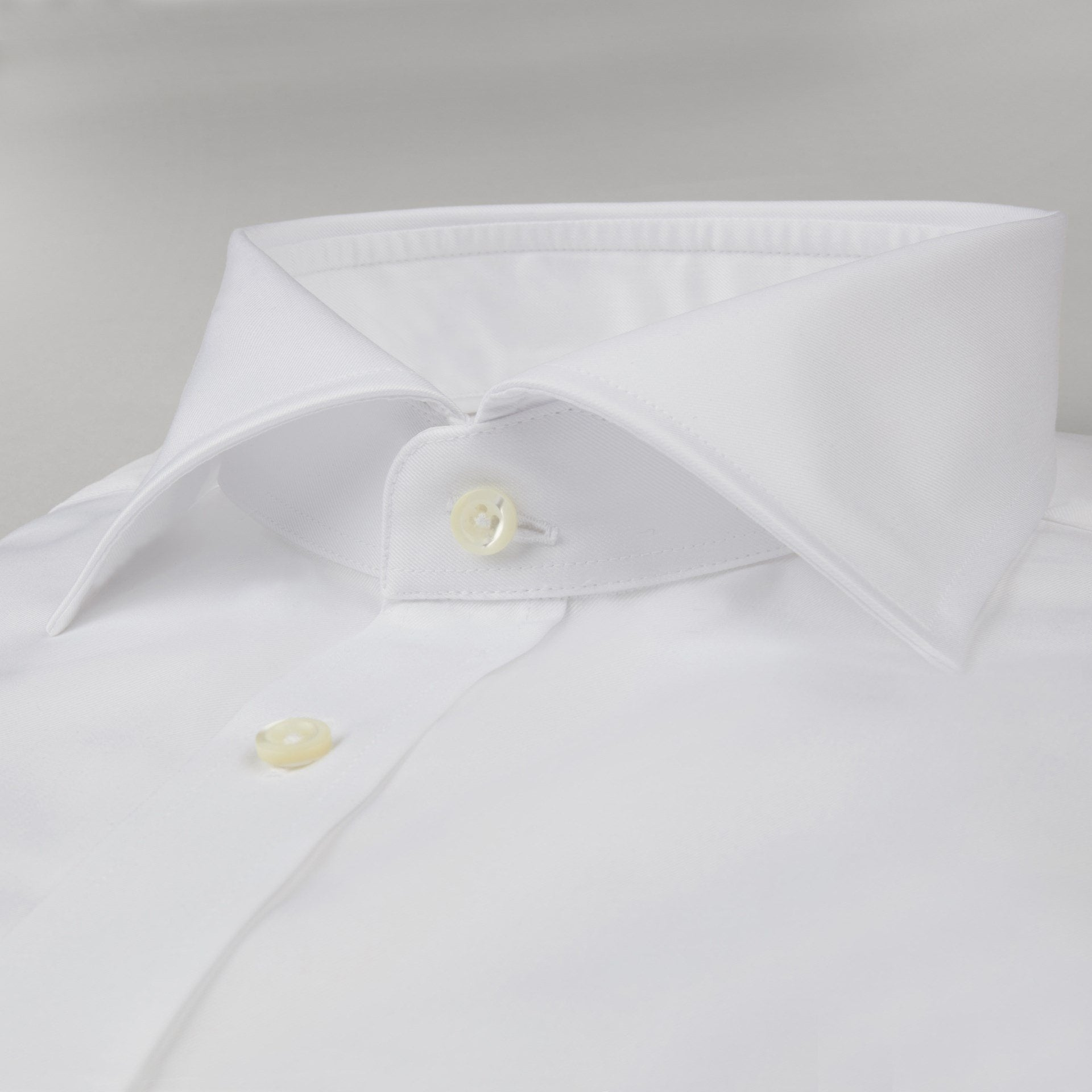 Stenstroms Solid White CLASSIC FIT Dress Shirt