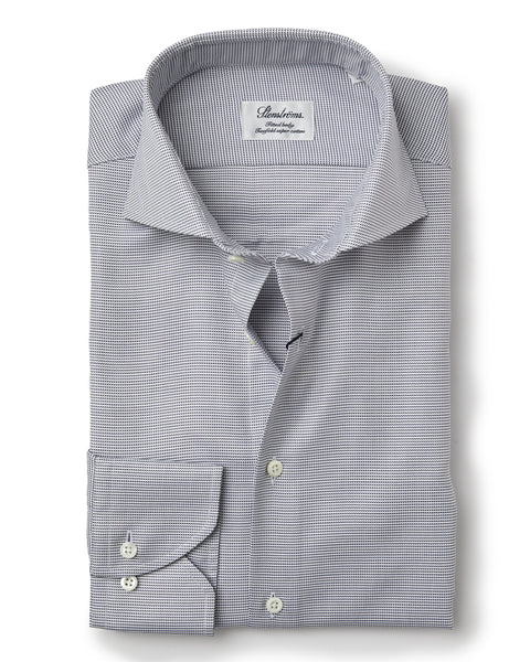 Stenstroms Navy Fitted Body Dress Shirt (US Only)