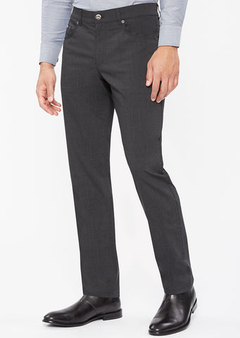 Manager Wool Blend 5-Pocket Trouser