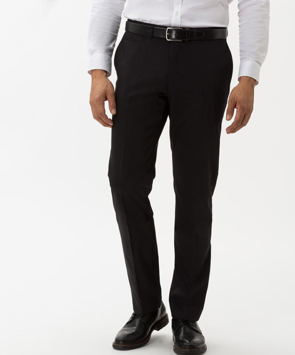 Manager Wool Blend Flat Front Trouser