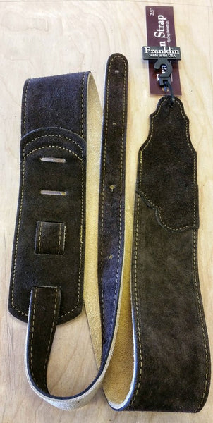 Franklin Glove Leather Guitar Straps Made IN USA