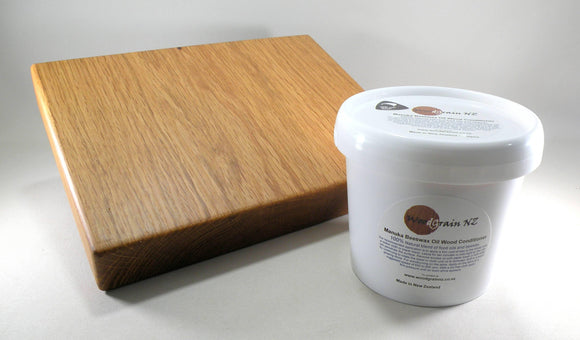 Manuka Beeswax and oil wood conditioner 980g - madeinNZ.co.nz