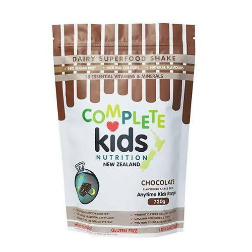 Anytime Kids Chocolate Pouch (720g) - madeinNZ.co.nz