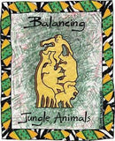 Balancing Jungle Animals - Natural (G) - madeinNZ.co.nz
