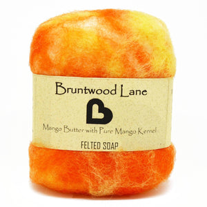 Mango Butter Felted Soap by Bruntwood Lane