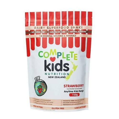 Anytime Kids Strawberry Pouch (720g) - madeinNZ.co.nz